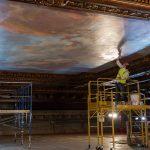 Restoration of the Bill Blass Mural