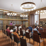 The Schwarzman Building's new Lenox and Astor Room will provide space for research and programs.
