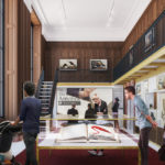 Plans for the Schwarzman Building include the addition of a brand new exhibition space on the First Floor.