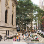 Proposed updates to the Stephen A. Schwarzman Building include a new entrance on 40th Street.
