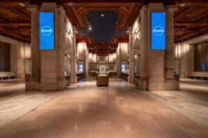 Photo of Gottesman Hall inside the Stephen A. Schwarzman Building